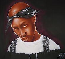 Tupac (Mike T Design) by Bilistik Art
