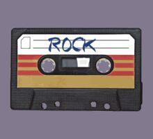 Rock and Roll music cassette Kids Tee