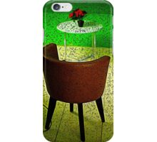 Chair and Plant iPhone Case/Skin
