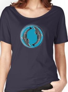 DOLPHINS SEAL Women's Relaxed Fit T-Shirt