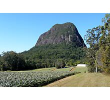 Glasshouse Mountains Photographic Print