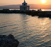 Kefalonian Sunset 2 by Paul Thompson Photography
