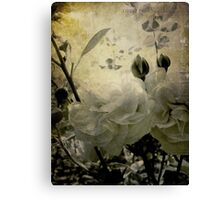 the cutting garden Canvas Print