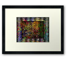 stage abstract  Framed Print