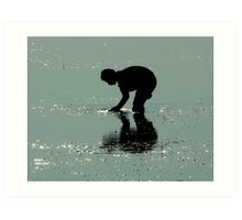 The Reflection of the Optimism Art Print