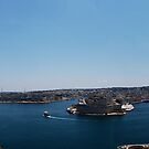 The Grand Harbour Valletta by narabia
