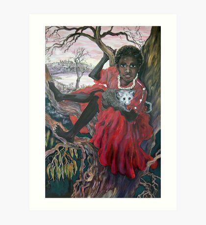 Mathinna (Mary) Art Print