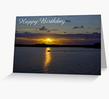 Strahan Harbour, Happy Birthday Greeting Card