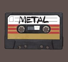 Heavy metal Music band logo - Cassette Tape Kids Clothes
