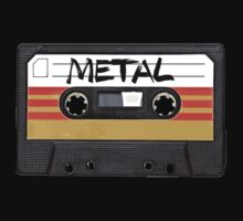 Heavy metal Music band logo - Cassette Tape by RestlessSoul