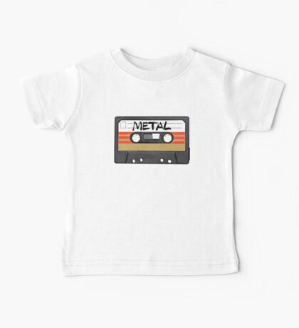 Heavy metal Music band logo Baby Tee