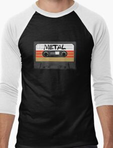 Heavy metal Music band logo Men's Baseball ¾ T-Shirt