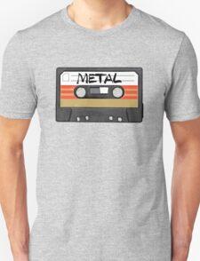 Heavy metal Music band logo - Cassette Tape T-Shirt