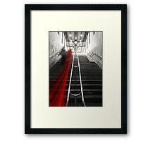 redline Framed Print