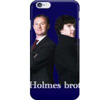 The Holmes brothers iPhone Case/Skin
