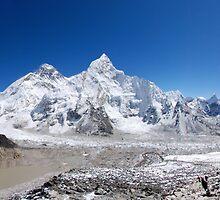Khumbu Skyline by Laurette Ruys