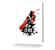 Zero Greeting Card