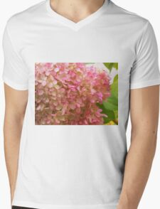 Glorious Pink Blossoms Mens V-Neck T-Shirt