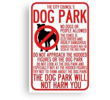 WTNV Dog Park Canvas Print