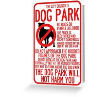 WTNV Dog Park Greeting Card