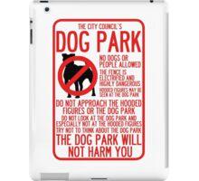 WTNV Dog Park iPad Case/Skin