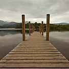 First light over Derwent Water. by Jon Baxter