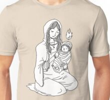 Mary and Child. Unisex T-Shirt