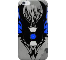 Vinyl Record - Modern Spikes Tribal and Wings Design iPhone Case/Skin