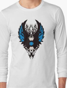 Vinyl Record - Modern Spikes Tribal and Wings Design T-Shirt