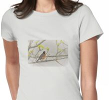 Mr. Robin Womens Fitted T-Shirt