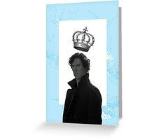 King Sherlock Greeting Card