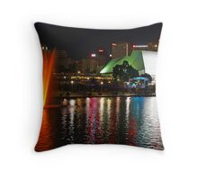 Vision of Light Throw Pillow