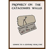 Prophecy on the Catacomb Walls Photographic Print