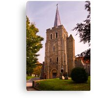 St.Mary The Virgin Tower Canvas Print