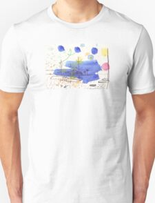 Two Kayaks on the Bay Unisex T-Shirt