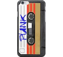 PUNK Music band logo in Cassette Tape iPhone Case/Skin