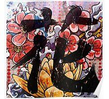Flower Kanji Poster