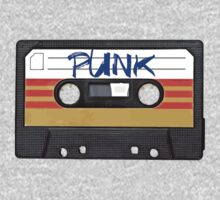 PUNK Music Cassette Tape T-Shirt