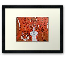 Huntress Framed Print