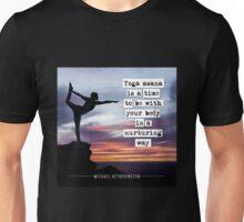 Yoga Asana is Nurturing Unisex T-Shirt