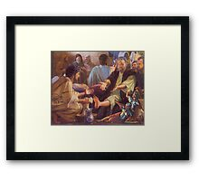 Mat Blackwell - The Odour That Makes Midget Warriors Weep... Framed Print