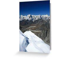 Mount Rushless Greeting Card