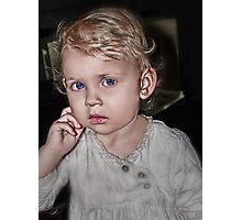 Baby Thinker Photographic Print
