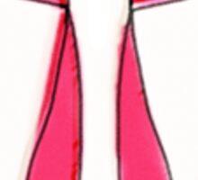 ballet scribble fleur Sticker