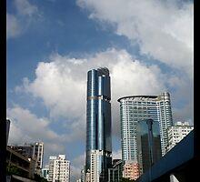 Building in Hong Kong by gogogoal