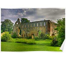 Jervaulx Abbey #1 Poster