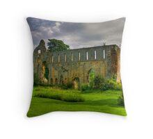 Jervaulx Abbey #1 Throw Pillow