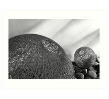 Weaved fishbowl Art Print