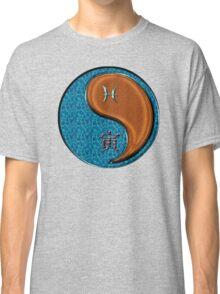 Pisces & Tiger Yang Wood Classic T-Shirt