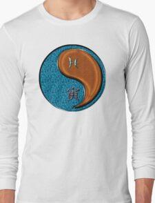 Pisces & Tiger Yang Wood Long Sleeve T-Shirt